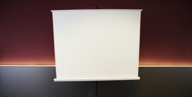 Rental projection screen